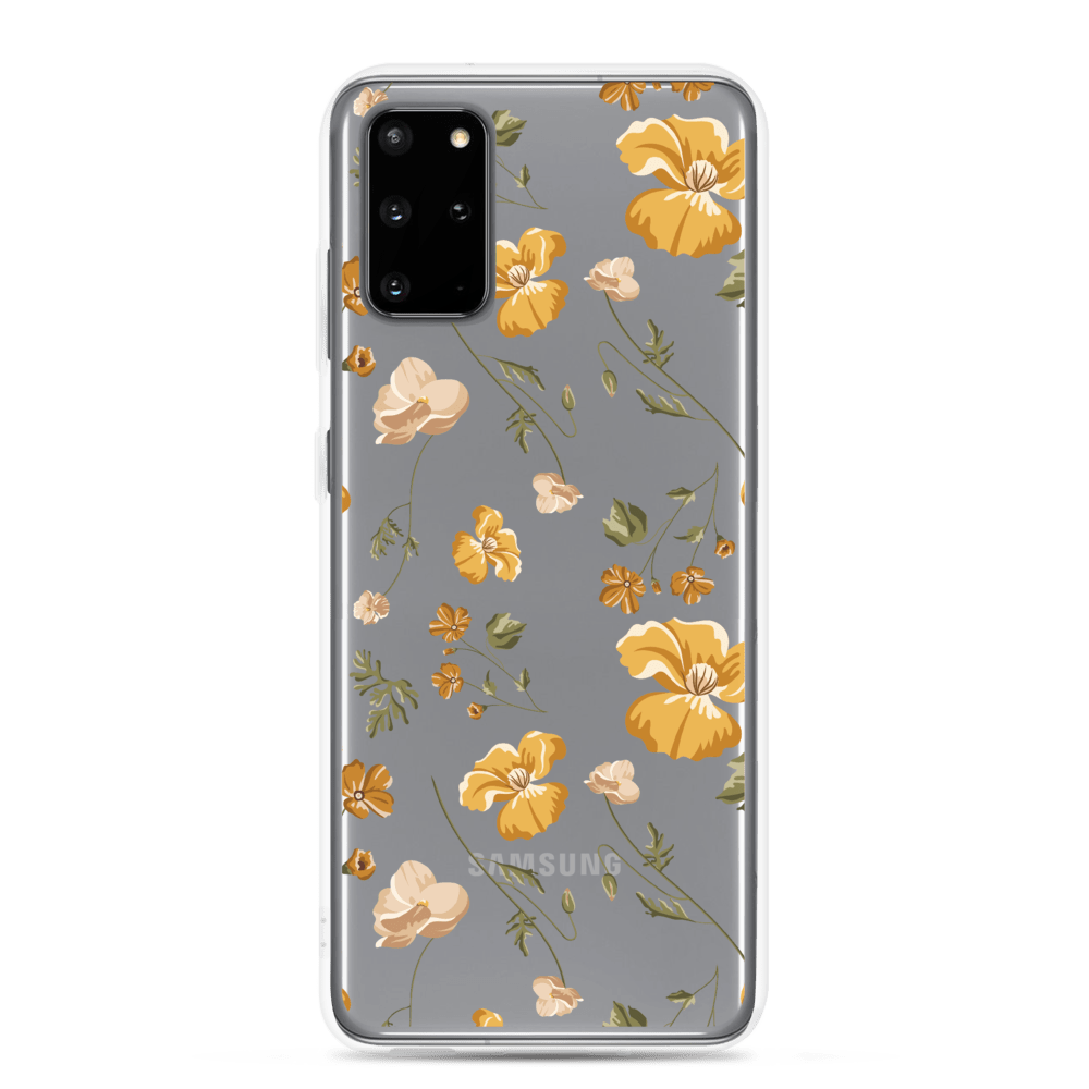 Decal Kings Samsung Galaxy S20 Plus Yellow Mix Flower Samsung Case
