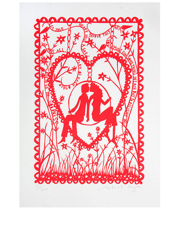 'Believe In Goodness' A/P Screenprint