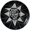 'Fight' Ceramic Plate
