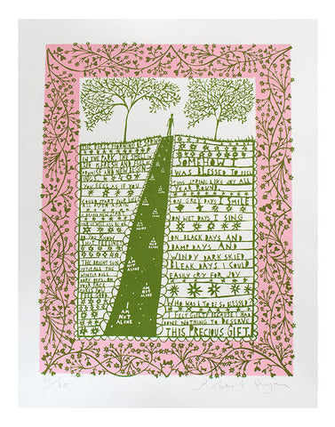 'First Morning of Spring' Screenprint