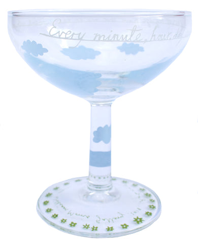 'This Moment With You' Pair of Champagne Glasses