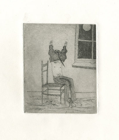'Pajamas' Etching