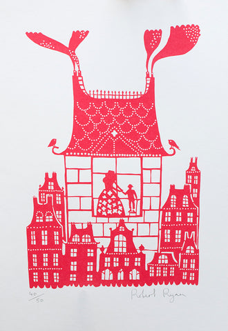 'House' Screenprint