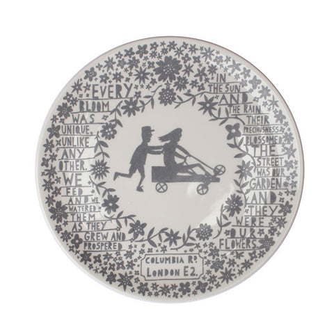 'Go Carting Children' Columbia Road Ceramic Plate