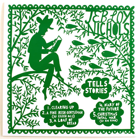 Jeb Loy Nichols 'Tells Stories And Sings Songs.'  Vinyl LP and Poster