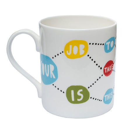 'Your Job' Ceramic Mug