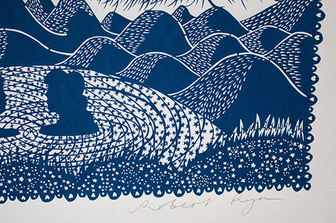 'Countless Moons' Screenprint - Rob Ryan