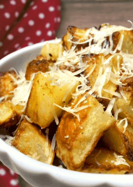 Easy Parmentier potatoes with Parmesan cheese