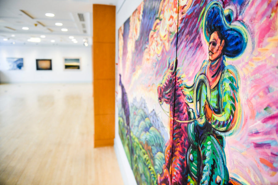 A stunning collection of Colorado art is hidden in a spot you might not expect