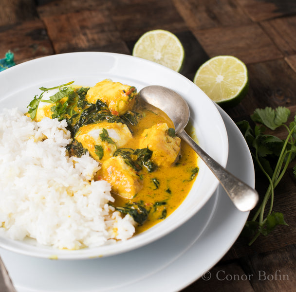 Thai Style Halibut – My Favourite Fish Curry