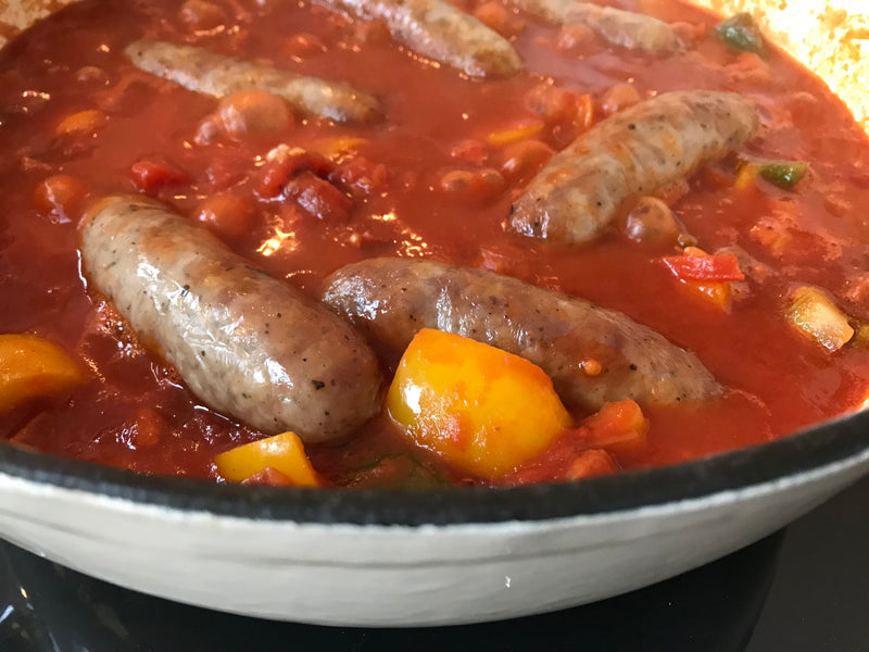 Deliciously Rich Sausage Bean Casserole – Perfect Recipe For UK Sausage Week!