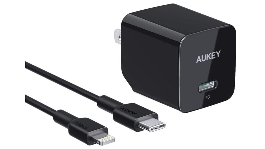 AUKEY 18W USB C Charger Wall Charger with Power Delivery 3.0, Type-C Charger to Lightning Cable for Apple Products, $19 With Our Secret Code! AUKEY 18W USB C Charger Wall Charger with Power Delivery 3.0, Type-C Charger Power Adapter Fast Charger...