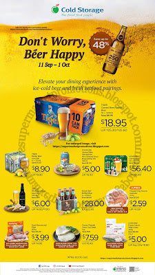 Cold Storage Beer Promotion 11 September - 01 October 2020