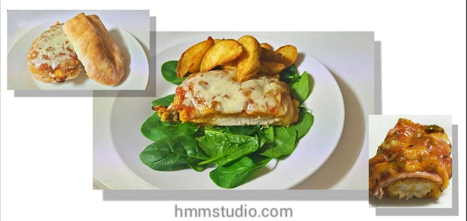 Chicken Parmigiana - Quick, easy and morish.