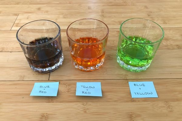 Ice Cube Color Mixing Activity