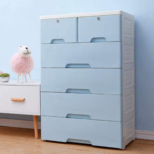Featured nafenai 5 drawer kids storage cabinet home storage drawers with lock wheel plastic bedroom storage bin closet kids toy box clothes storage cabinet