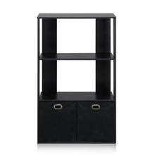 Load image into Gallery viewer, Furinno 3-Tier Organizer 13234EX/BK