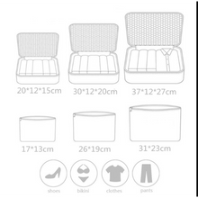 Load image into Gallery viewer, 6pce Oxford Cloth Suitcase Packing Cube Organizer