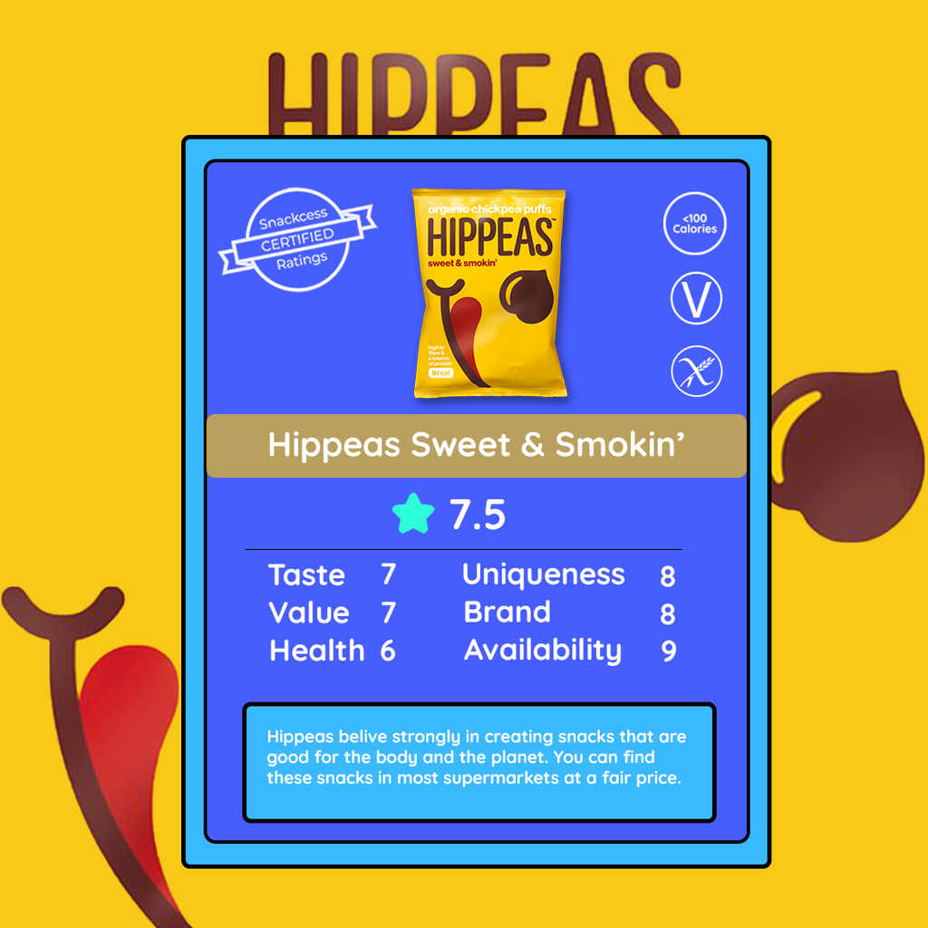 Hippeas Sweet & Smokin' Chickpea Puffs