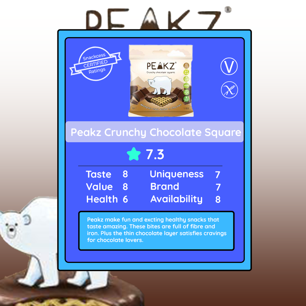 Peakz Crunchy Chocolate Square