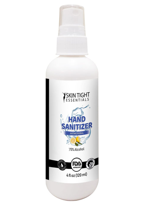 4oz Liquid Spray Lemongrass Fragrance Hand Sanitizer MINIMUM ORDER 4,000 UNITS