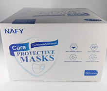Load image into Gallery viewer, Case of 50 Face Masks, CE Certified, FDA Compliant SAME DAY SHIPPING!!!