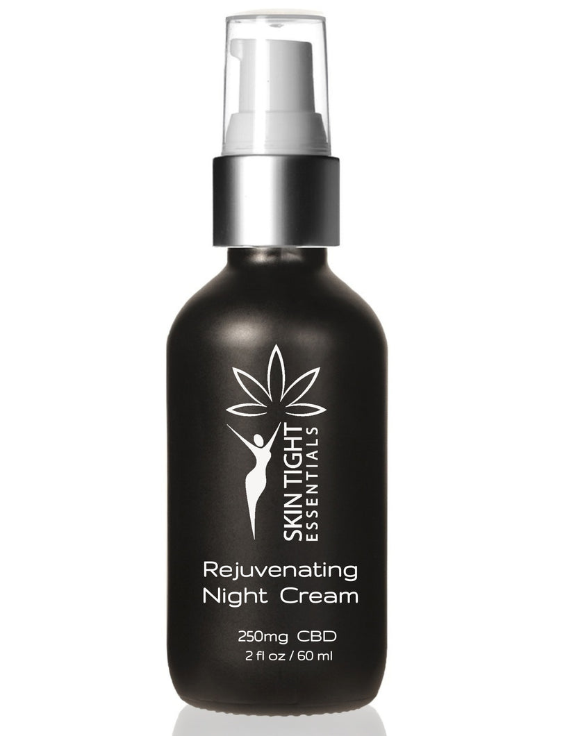 Rejuvenating Night Cream (250mg CBD)