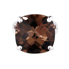 Smoky Quartz Nadia Ring