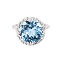 Kellie Ring Blue Topaz