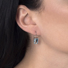 Blue Topaz Siobhan Earrings