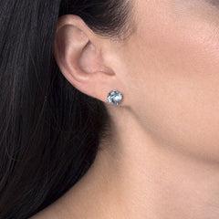 Blue Topaz Renee Earrings