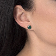 Green Agate Renee Earrings