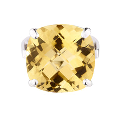 Yellow Citrine Nadia Ring