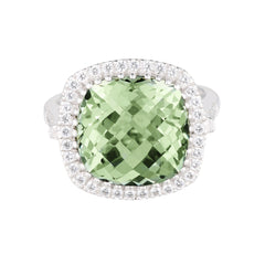 Celebrations Ring Green Amethyst