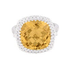Celebrations Ring Yellow Citrine