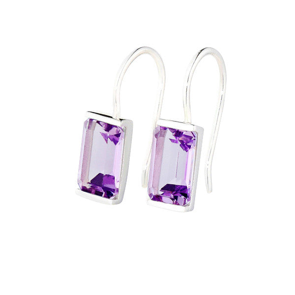 Purple Amethyst Siobhan Earrings