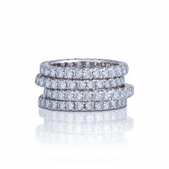 Eternity Ring Cubic Zirconia