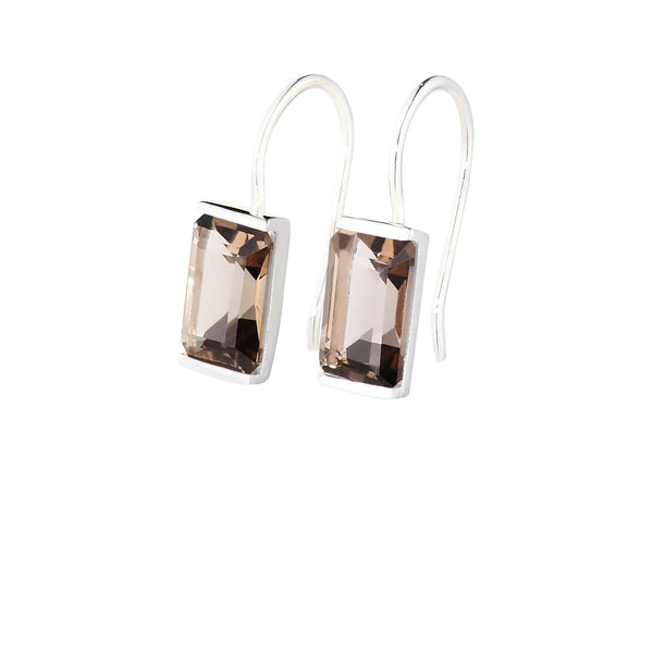 Smoky Quartz Siobhan Earrings