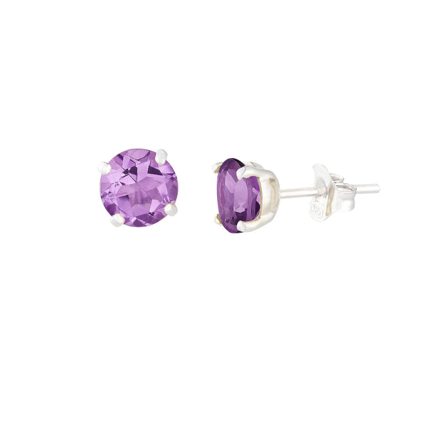 Purple Amethyst Renee Earrings