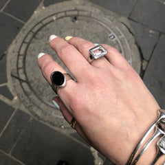 Soho Ring Black Onyx