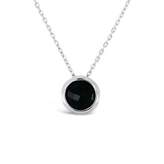 Bloom Pendant Black Onyx
