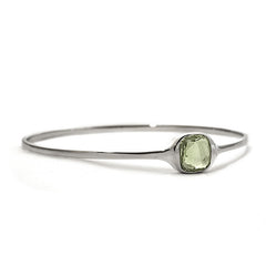 LOVE Bangle Green Amethyst