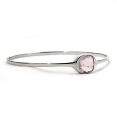Urban Chic - LOVE Bangle Rose Quartz