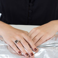 Smoky Quartz Kellie Tiara Ring