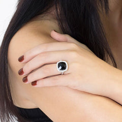 Black Onyx Celebrations Ring