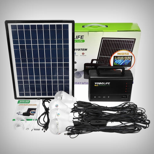 LED 18W USB/Solar Kit