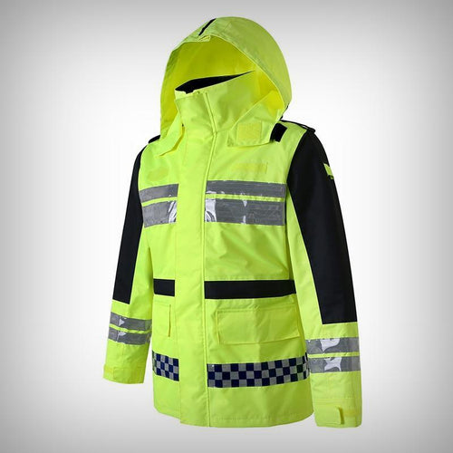 Traffic Reflective Raincoat