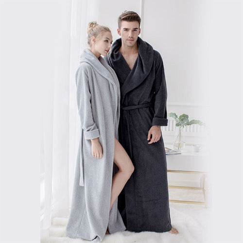 Microfiber Fleece Robe