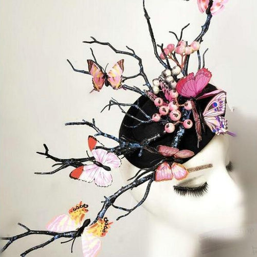 Forest Butterfly Headpiece