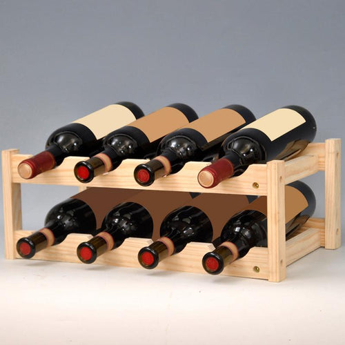 8 Bottle Wine Mount